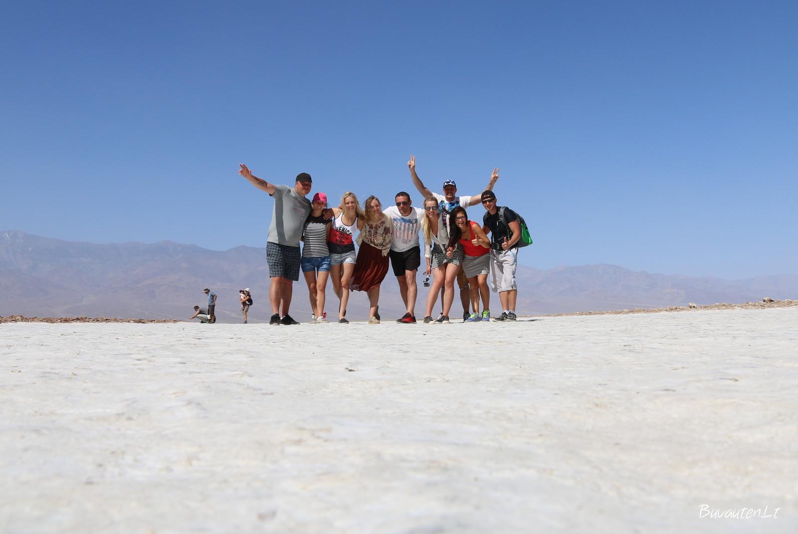 Keliaujam Amerikoje – čia Mirties slėnis