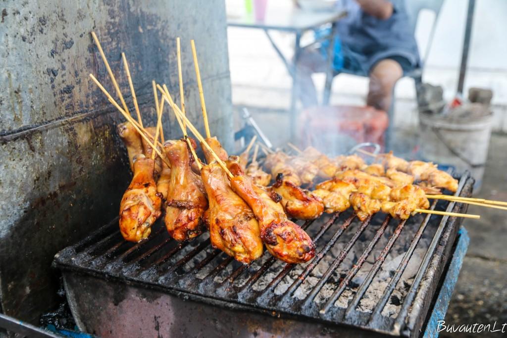 Maistas gatvėje – Tailando virtuvės dalis