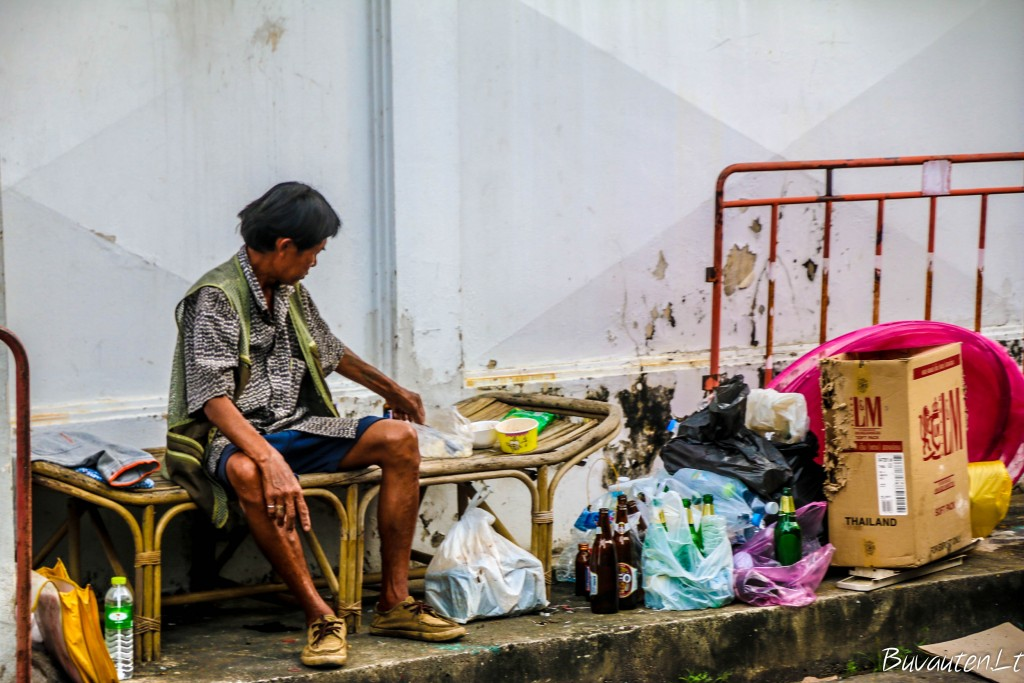 Bankoko skurdžioji pusė