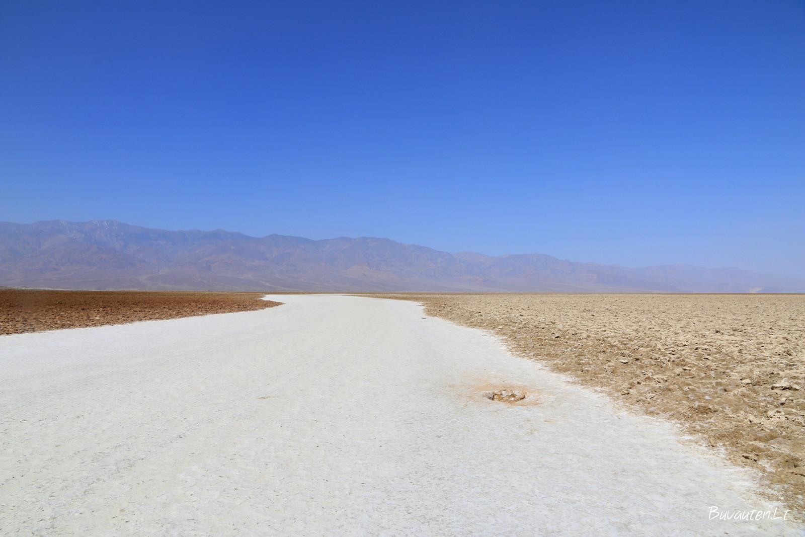 Druskos lyguma Badwater Basin