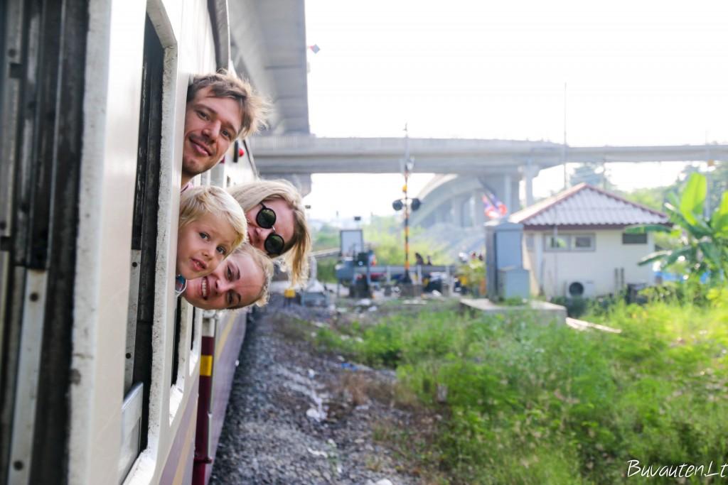 Iš Bankoko į Kanchanaburi