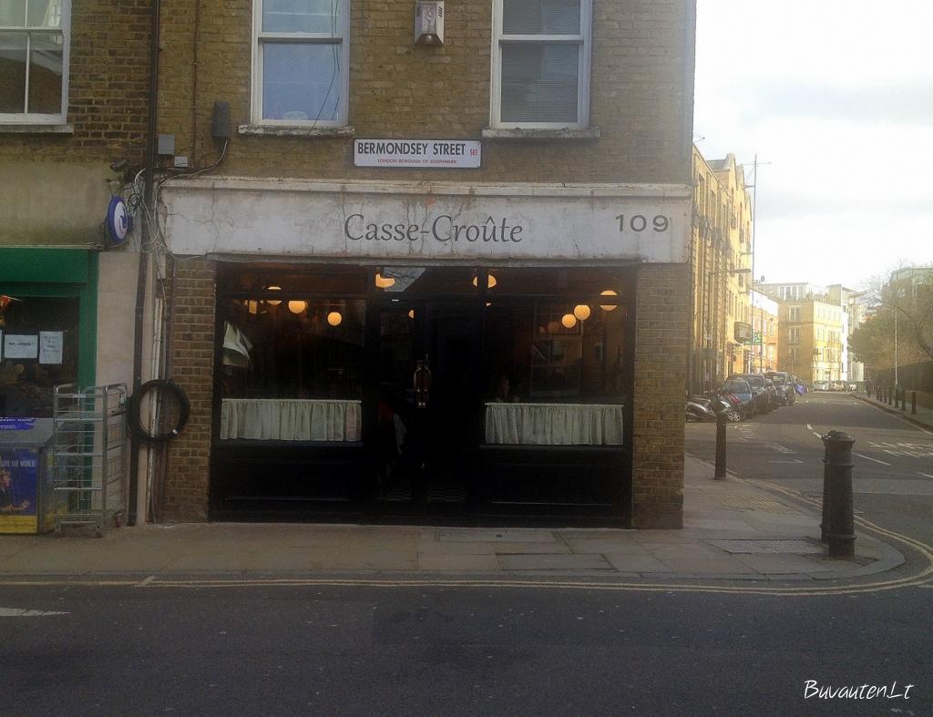 Casse-Croûte Bermondsey gatvėje