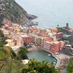 Spalvoti Italijos Rivjeros kaimai – Cinque Terre