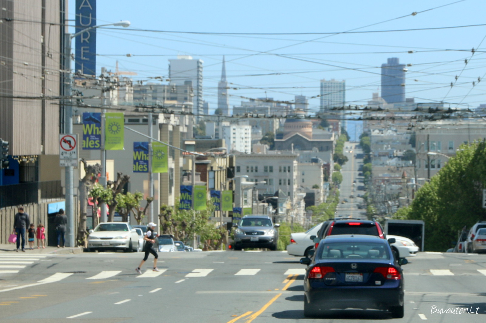 San Francisko gatvės