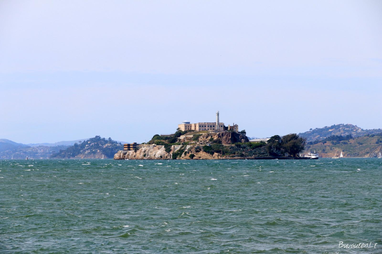 Alkatrazo sala nuo San Francizko pakrantės