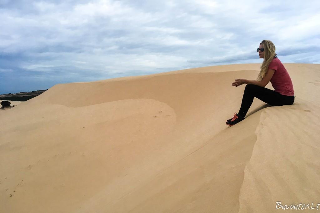 Baltosios smėlio kopos
