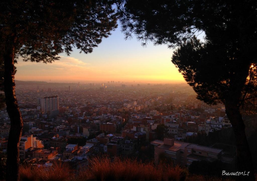 Saulėlydis Barselonoje