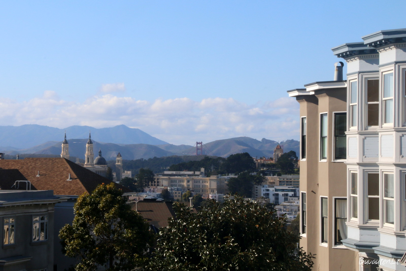 San Francisko panorama
