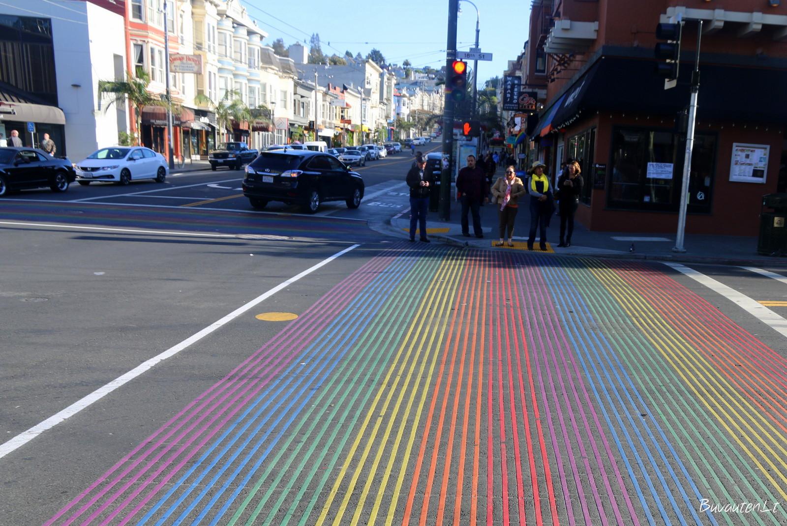 Pėsčiųjų perėja Castro rajone