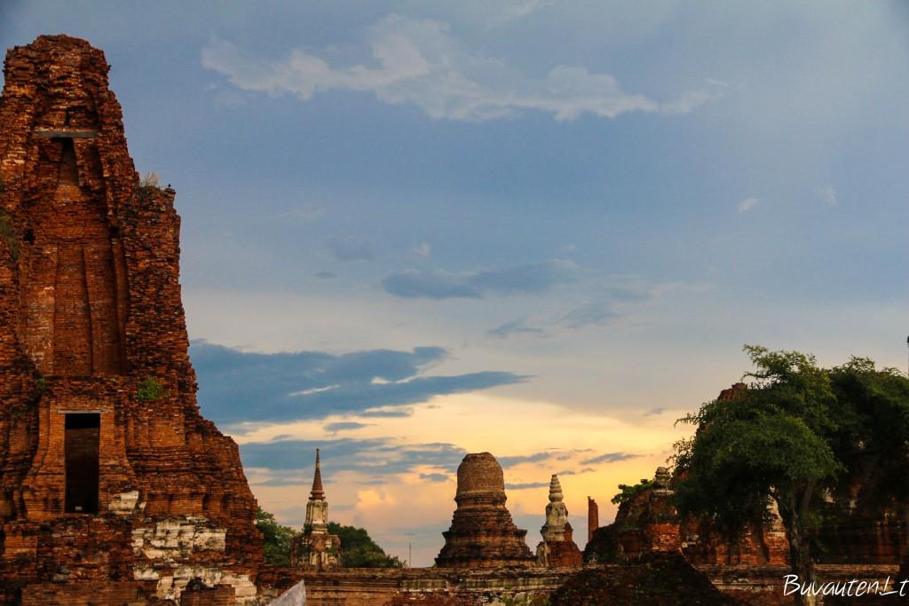 Ayutthaya šventyklų griuvėsiai