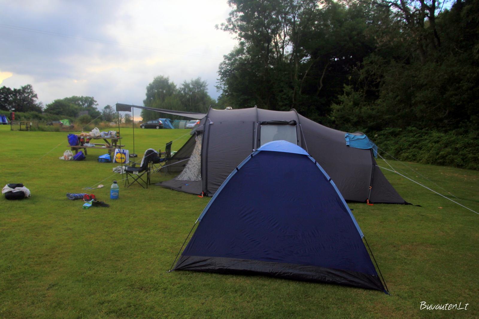 Mūsų stovyklavietė
