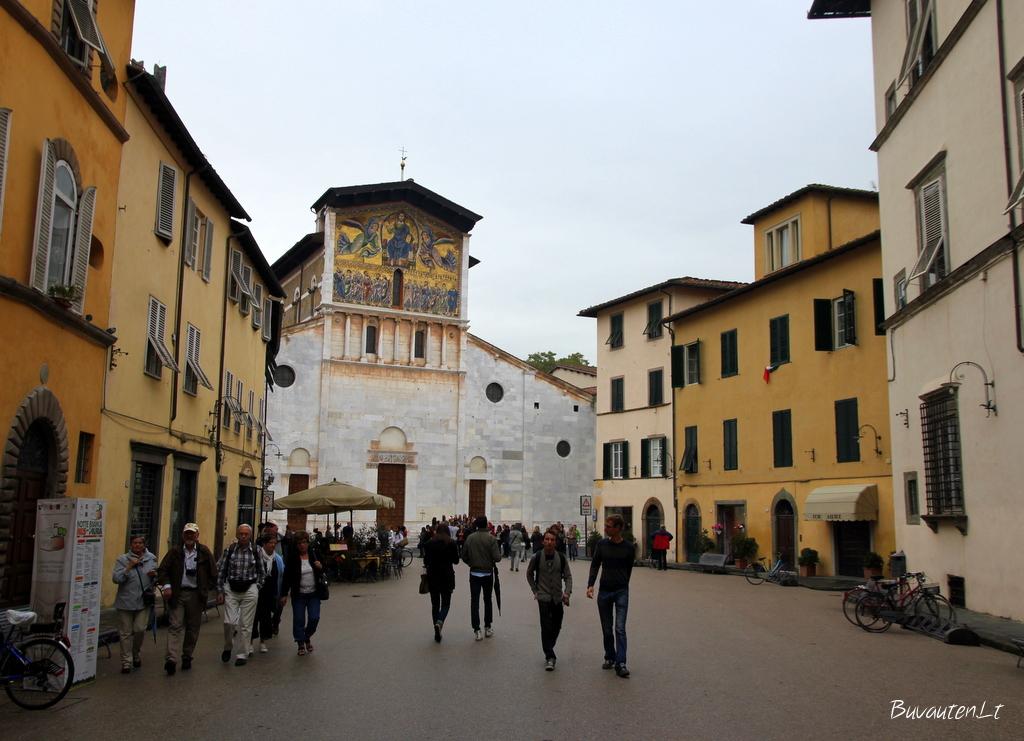 Šv. Frediano bazilika - seniausia miesto šventykla