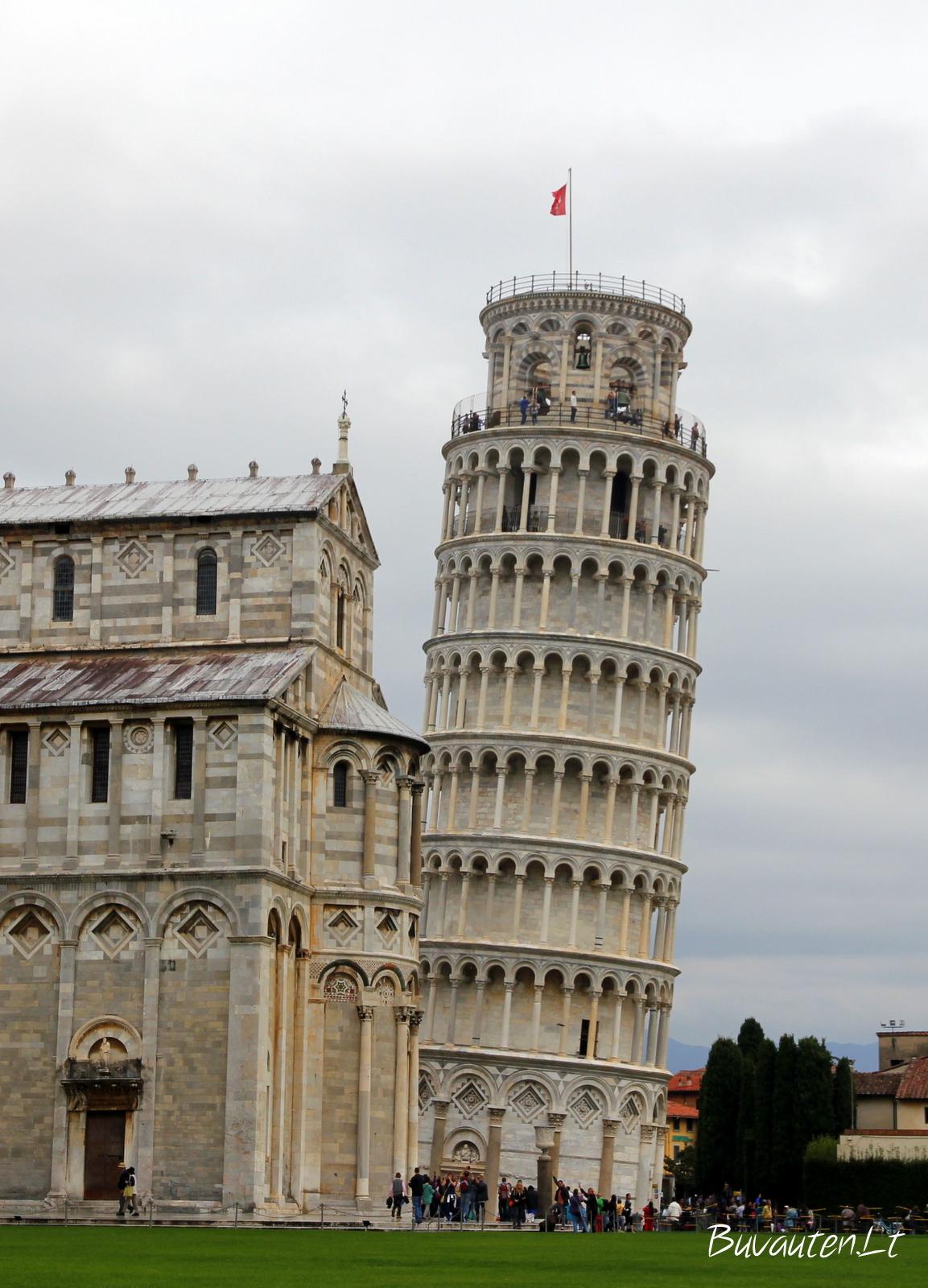 Pasviręs bokštas