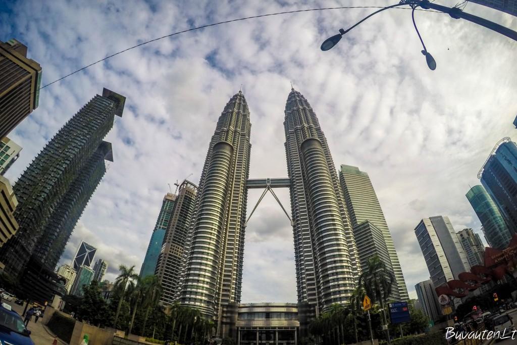 Petronas bokštai dvyniai - Kuala Lumpuro simbolis