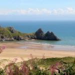 Velso pakrantės: žavūs Swansea paplūdimiai