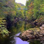 Rudenėjančios Škotijos takais: Killiecrankie tarpeklis