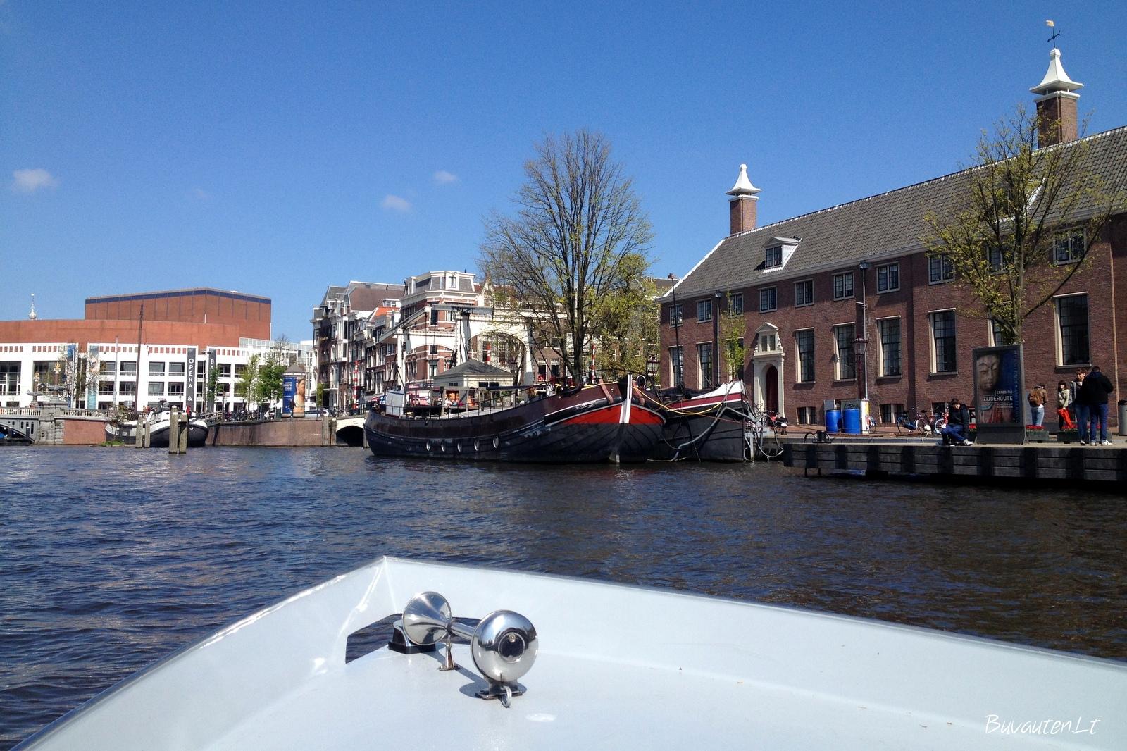 Amsterdamas - miestas ant vandens