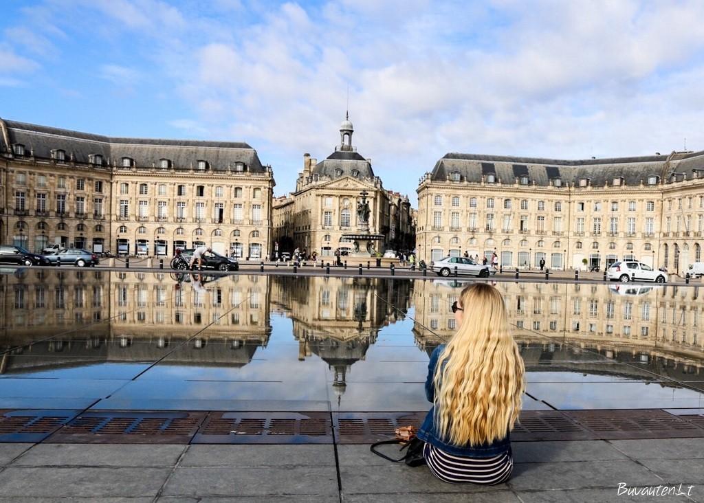 Bordeaux miesto veidrodis