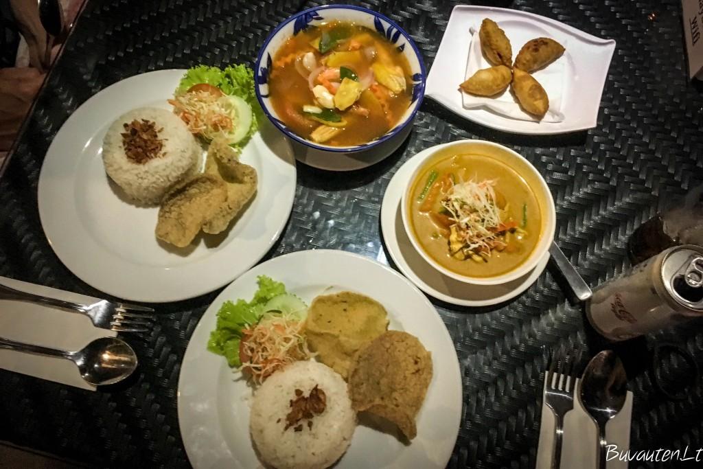 Vakarienė dviems Langkawi saloje už 50 ringitų