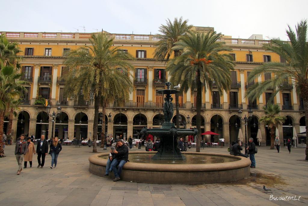 Karališkoji aikštė Barselonoje
