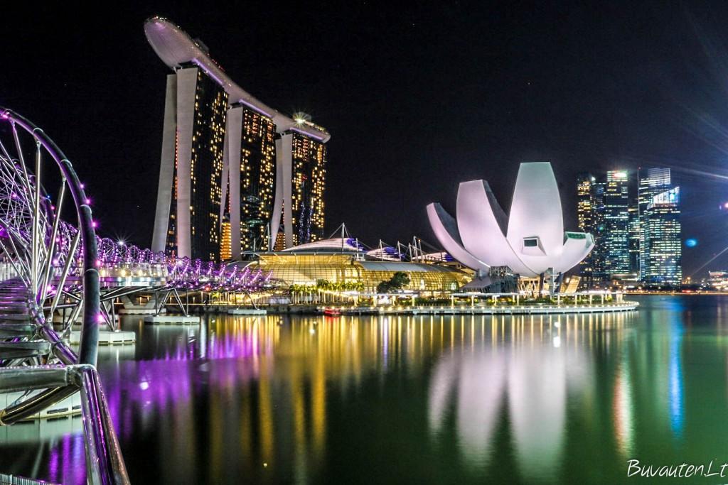 Naktiniai Singapūro atspindžiai