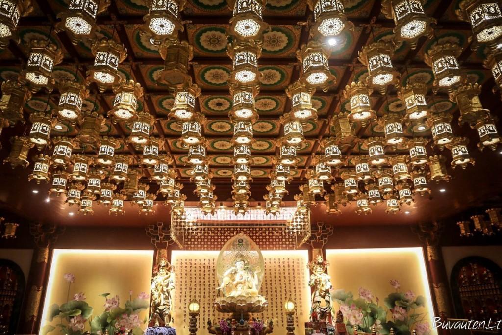 Buddha Tooth Relic šventykloje