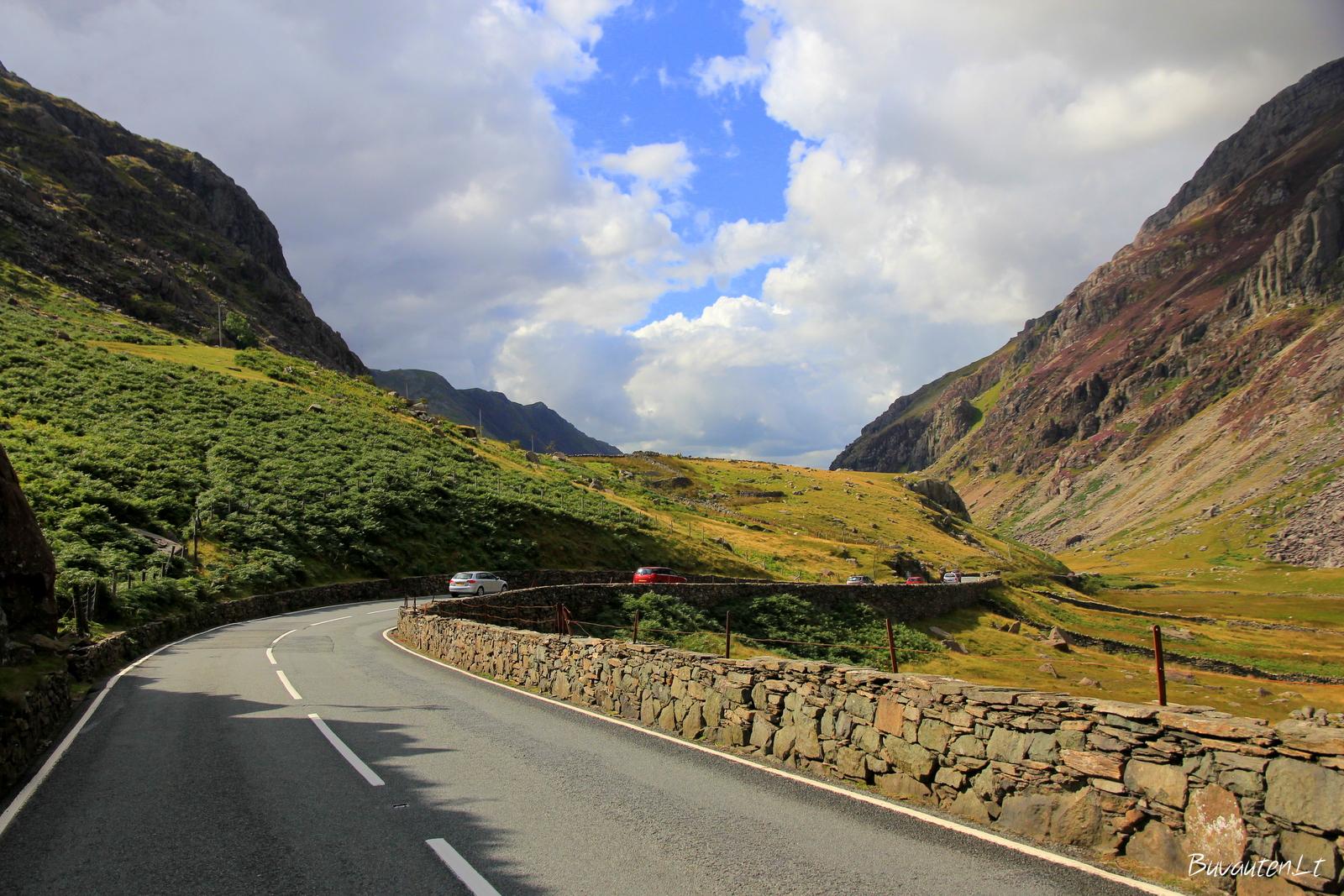 Kelias per Kambrijos kalnus