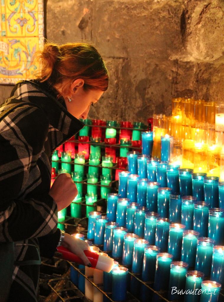 Žvakės vienuolyno šventajai