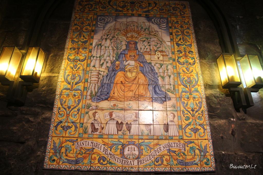 Montserato Juodoji Marija
