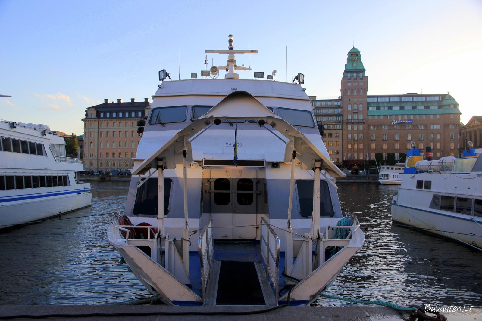 Jachta Stokholme