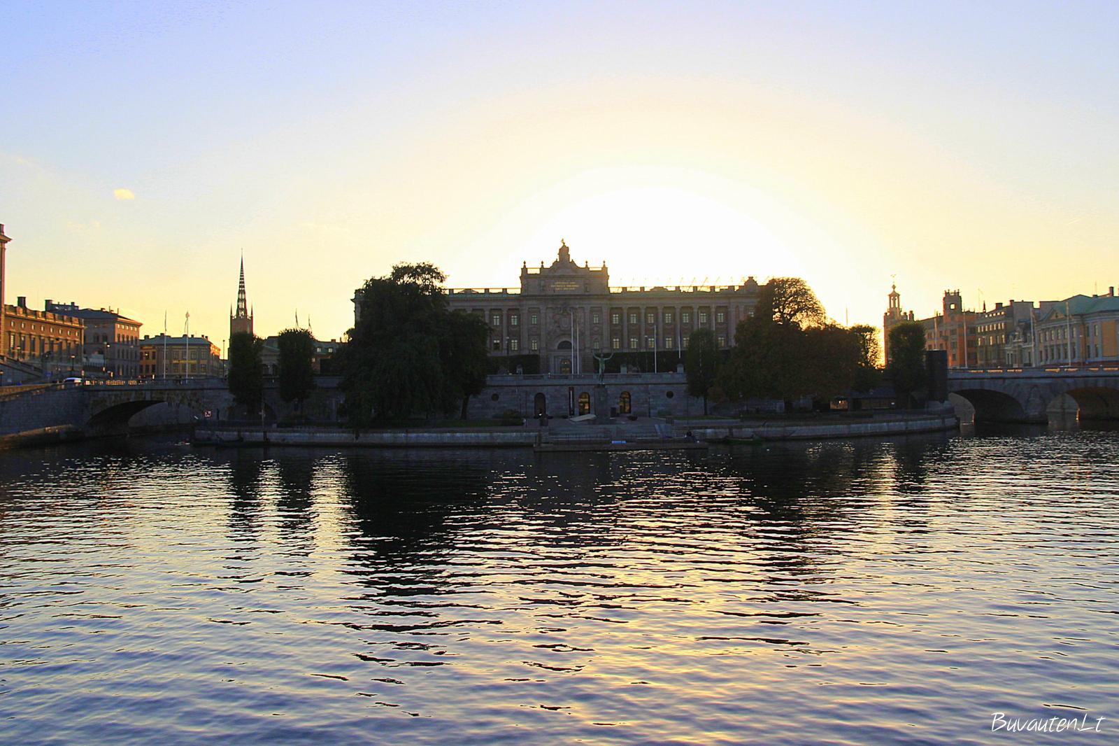 Riksdago rūmai Stokholme