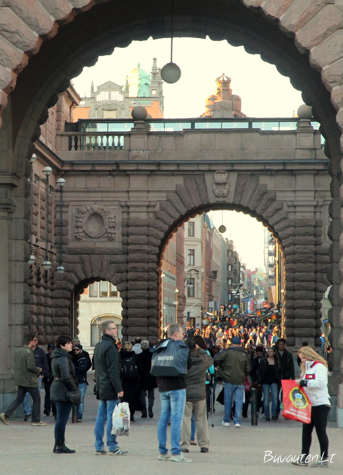 Riksdago vartai