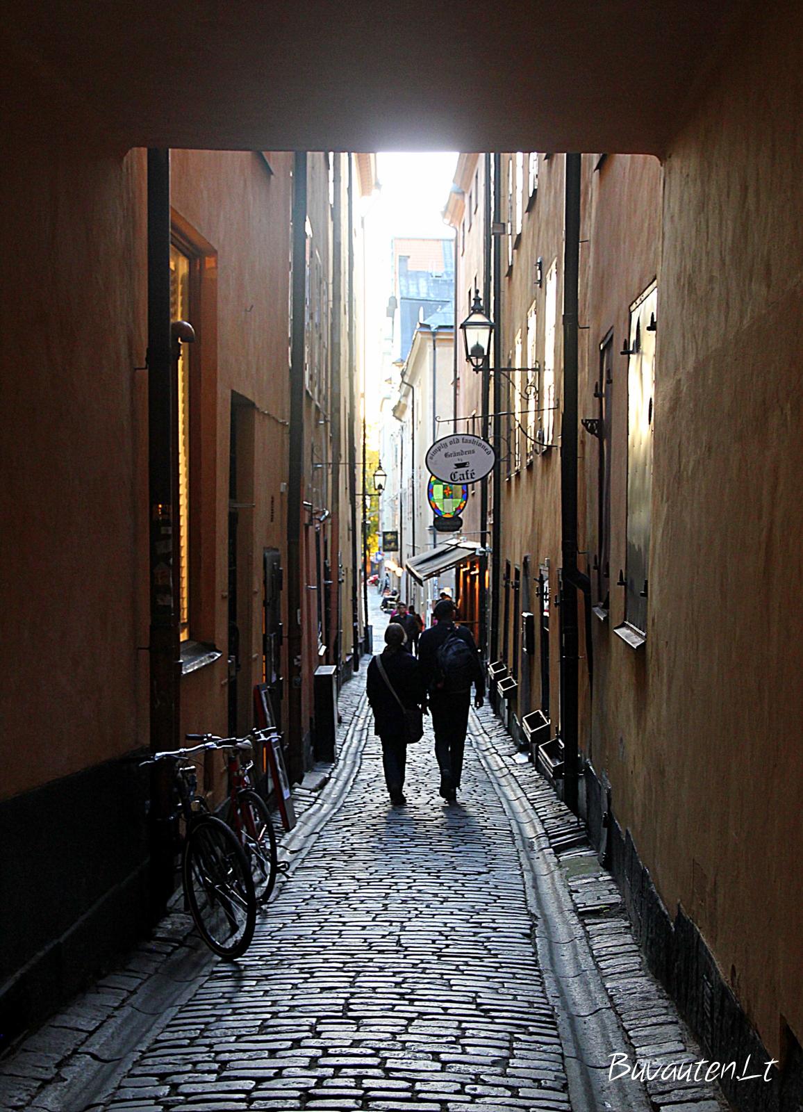 Jaukios senamiesčio gatvės