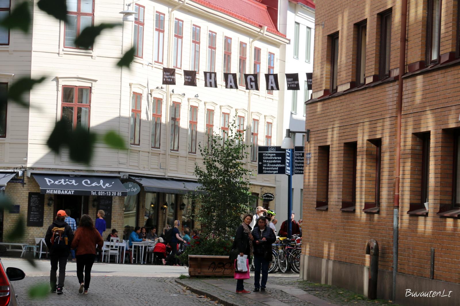 Seniausia Geteborgo dalis