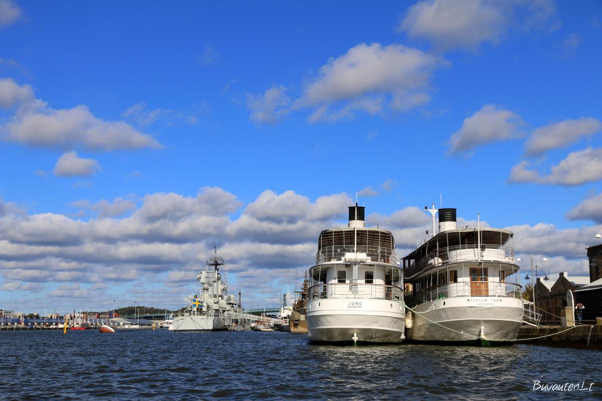 Geteborgo uostas