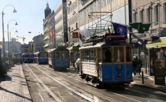 Geteborgo tramvajai