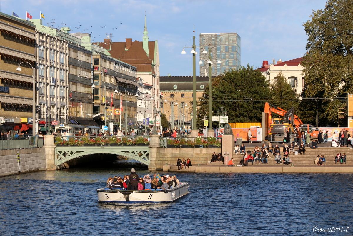 Geteborgo miesto kanalai