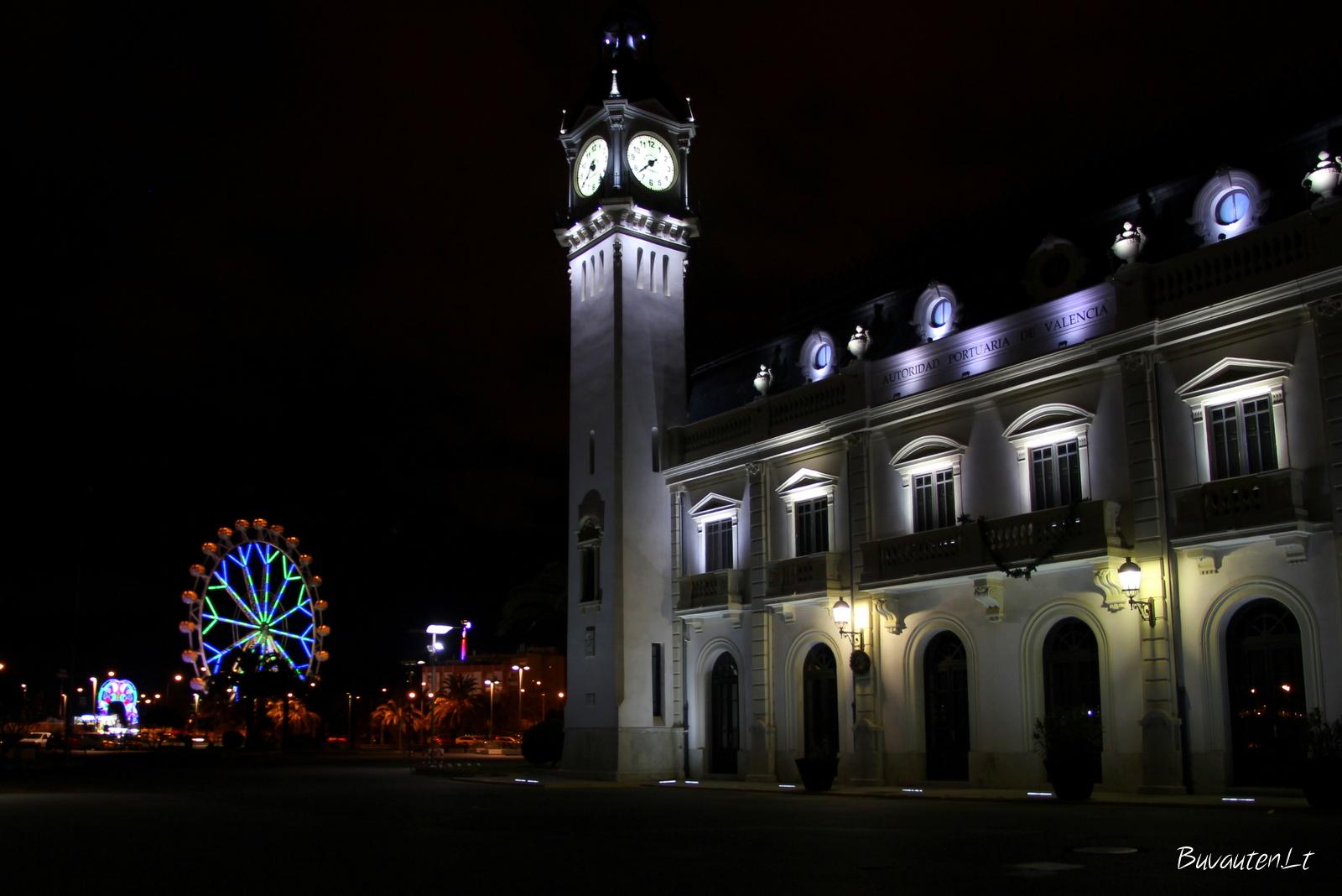 Valensijos uosto bokšto laikrods