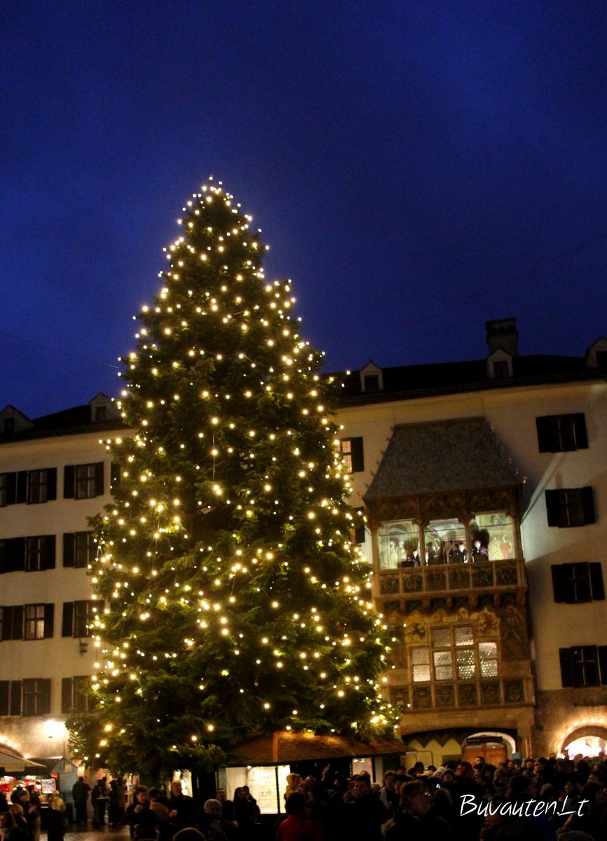 Kalėdos Insbruke