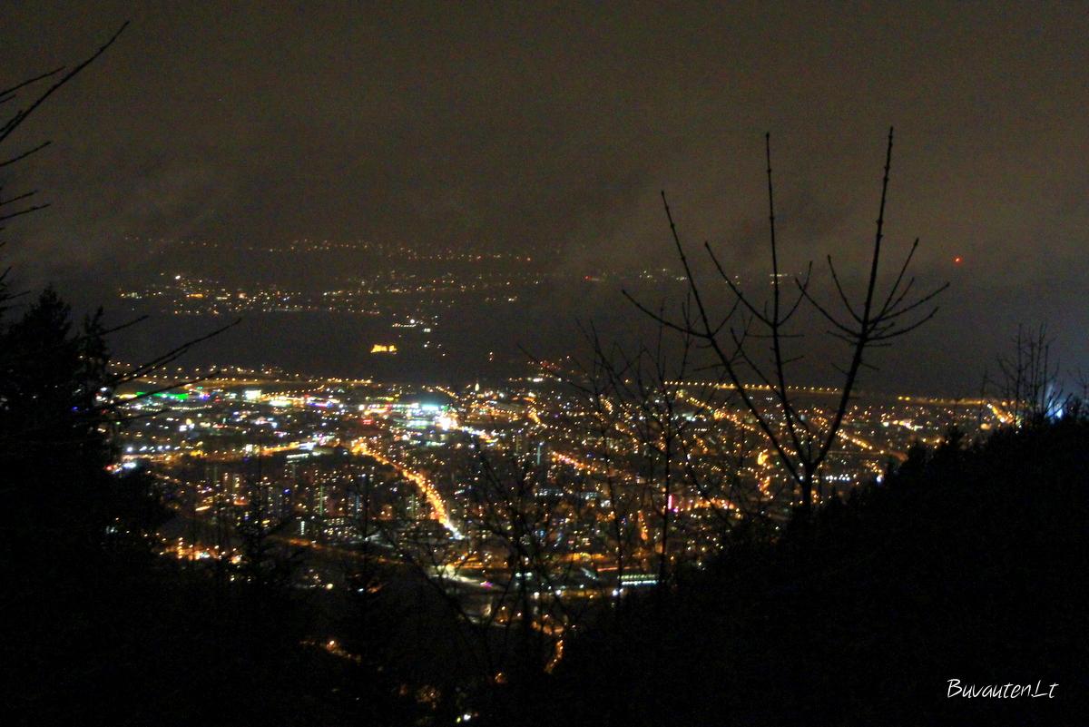 Insbruko panorama iš kalnų
