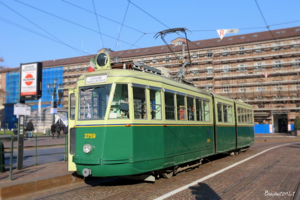 Turino tramvajus