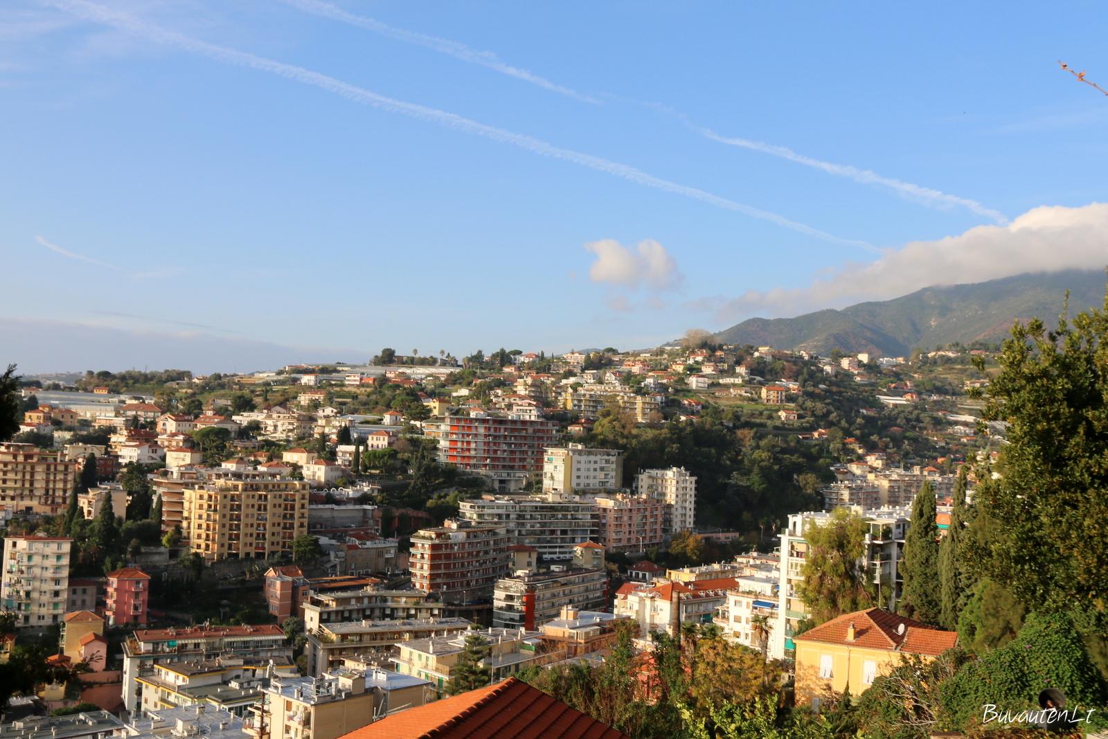 Virš Sanremo stogų