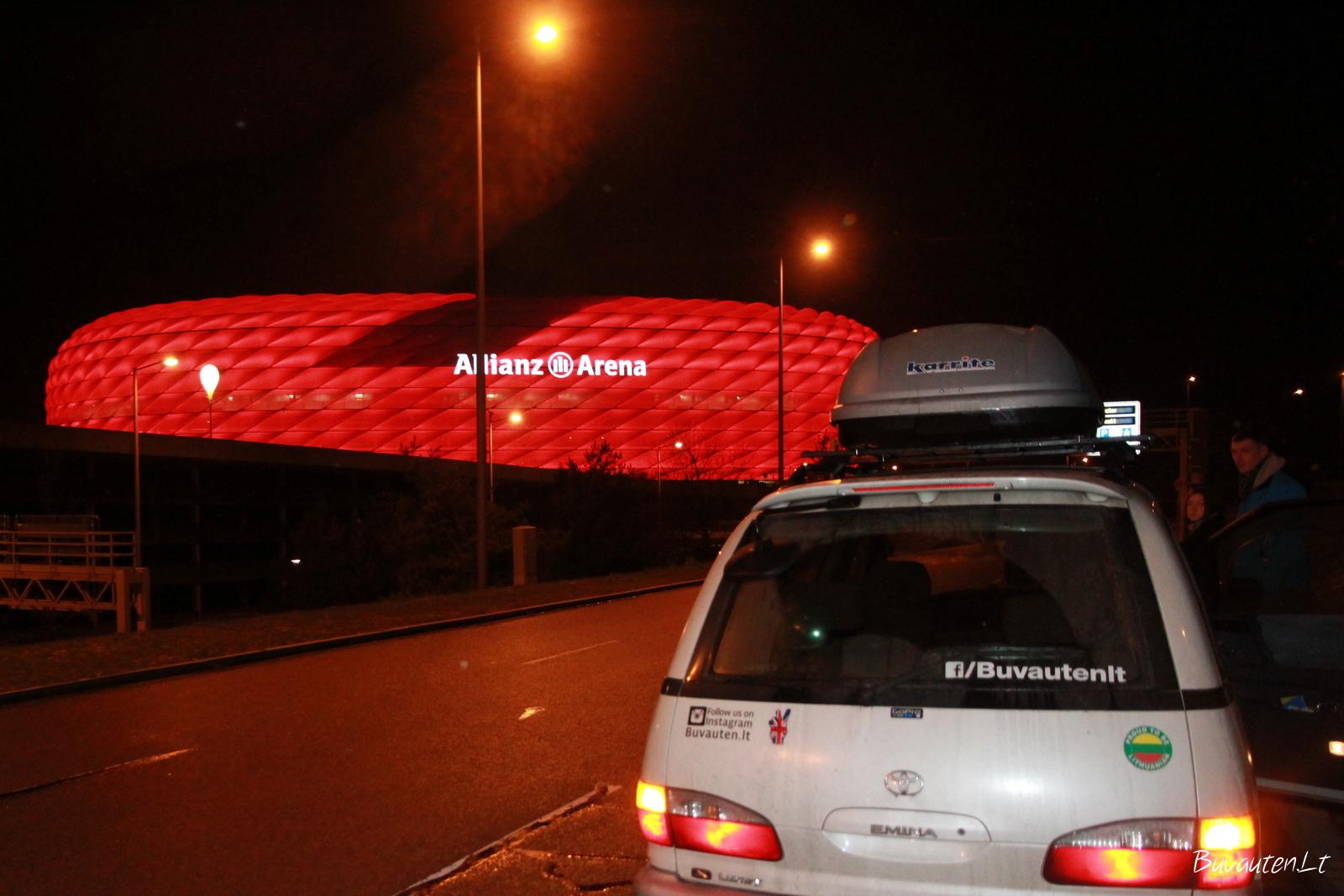 Allianz arena Miunchene