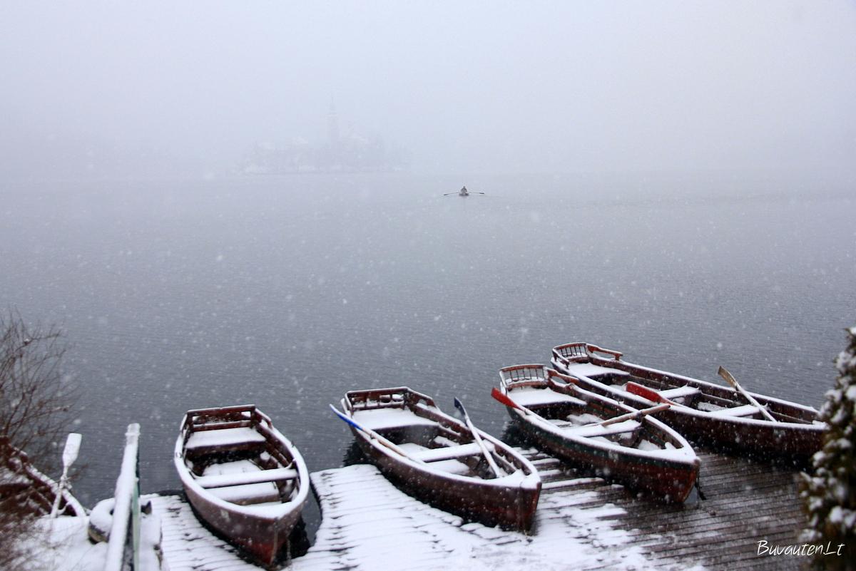 Rūke paskendęs Bledo ežeras