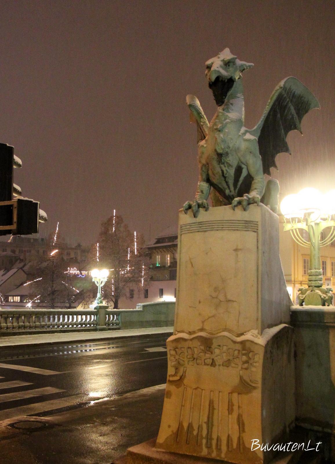 Drakono tiltas Liublianoje