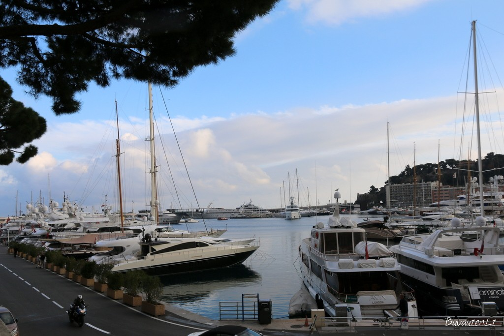 Monako uostas