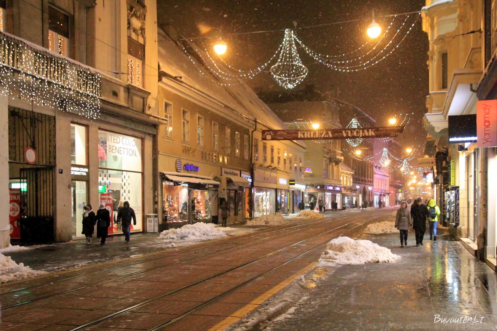 Ilica – pagrindinė miesto gatvė