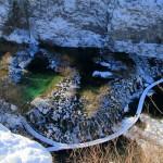 Žiema Kroatijoje: Plitvicos ežerų nacionalinis parkas