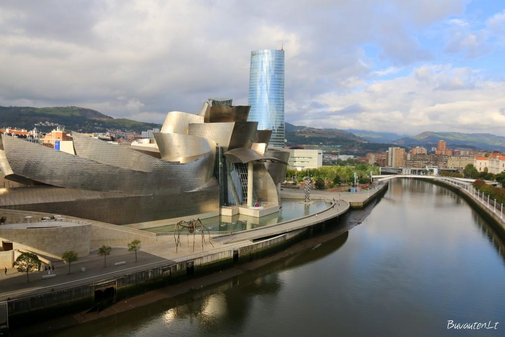 Stebinanti Bilbao architektūra