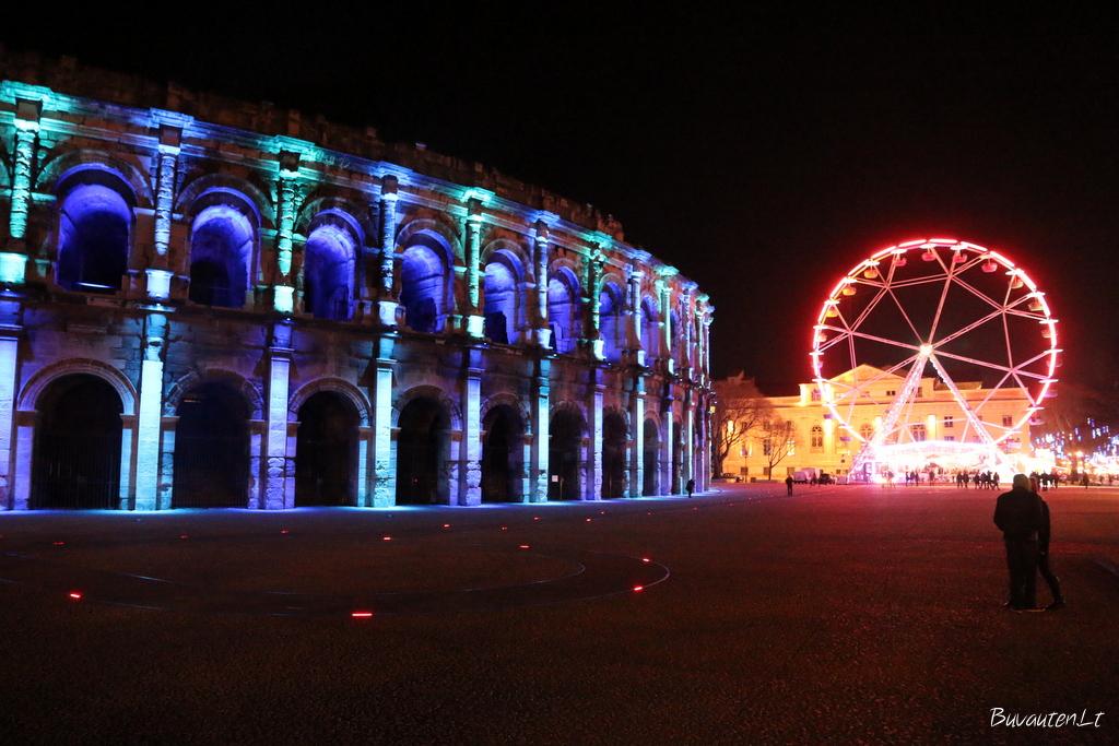 Prancūzijos miestas Nimes